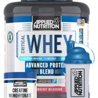 Applied Nutrition Critical Whey 2.27kg – SPECIAL OFFER FREE 250G CREATINE AND SHAKER