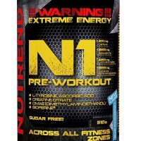 Nutrend N1 Pre Workout 510g
